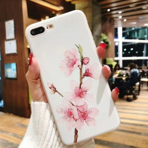 NEW iPhone Max/XR/XS/X/78/Plus Floral Soft case